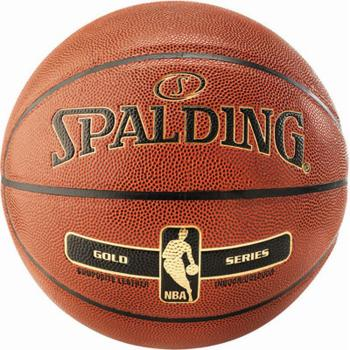 Basketball Spalding NBA Gold, Gr. 7 + 6