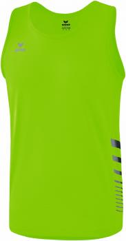 RACE LINE 2.0 RUNNING SINGLET Kinder - green gecko