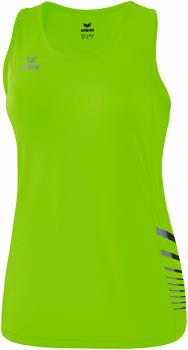 RACE LINE 2.0 RUNNING SINGLET Damen - green gecko