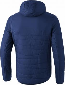 Steppjacke - new navy/orange fire