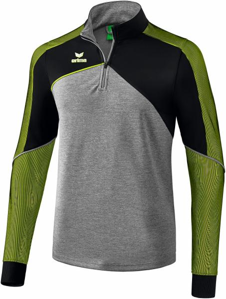 PREMIUM ONE 2.0 Trainingstop - grau melange/schwarz/lime pop